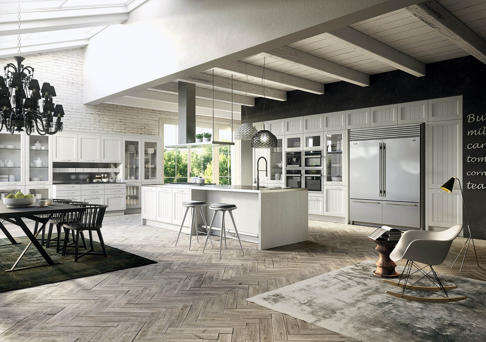 Country kitchens made in Italy Arrital Village
